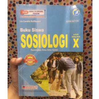 buku sosiologi SMA kelas x