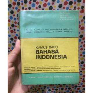 kamus baru bahasa indonesia