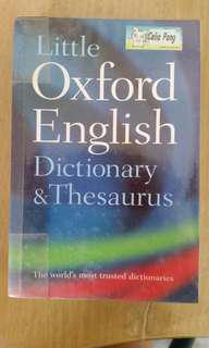 Pocket sized English Dictionary
