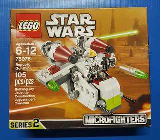 Bnew Lego Star Wars 75076