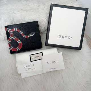 Very Good Condition Authentic GUCCI King Snake Wallet
