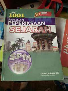 SPM Reference Books sejarah