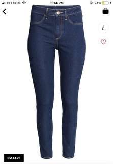 h&m skinny ankle jeans #50under