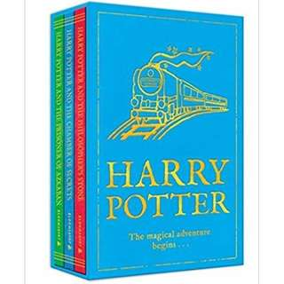 HARRY POTTER THE MAGICAL ADVENTURE BEGINS, 3 VOL BOXED SET: AN EXQUISITE GIFT SET FOR BOTH WIZARDS AND MUGGLES (HARRY POTTER BOXSET VOLS 1-3)