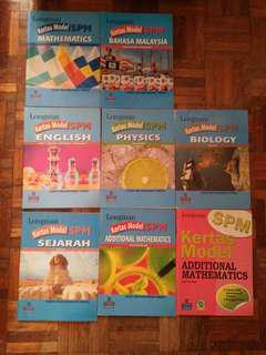 Longman SPM kertas model add maths, sejarah, english, maths, bahasa Malaysia, biology, physics
