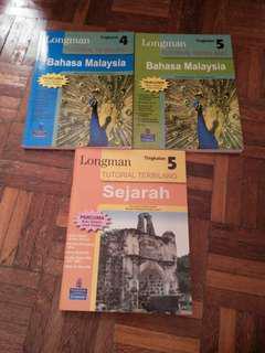 Longman tutorial books bm, sejarah