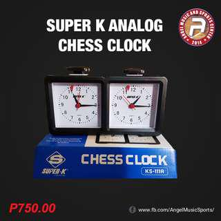 Super K Analog Chess Clock