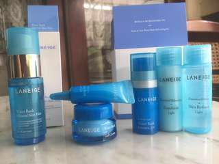 *NEW* LANEIGE Water Bank Basic & New Trial Set + Water Bank Mineral Skin Mist Travel / Mini