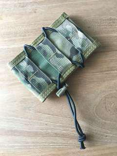 HSG Multicam Magazine/Hp Holder. With Bungee Cord.