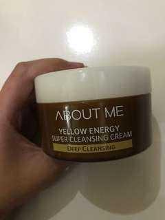 About me yellow energy super cleansing cream