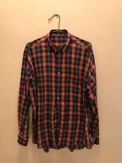 🚚 老品 格子襯衫