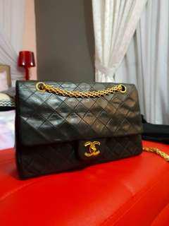 Preloved Chanel Vintage Lambskin Handbag