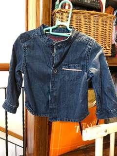 Denim TOP or jacket 6 months old