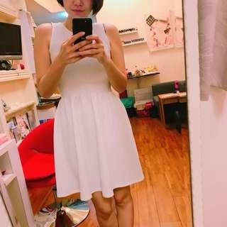 🚚 全新白色背心洋裝M