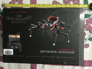 Spider-man spider-drone with streming video