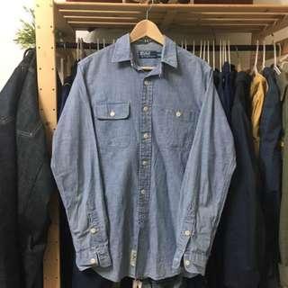 Ralph Lauren polo 牛仔 襯衫