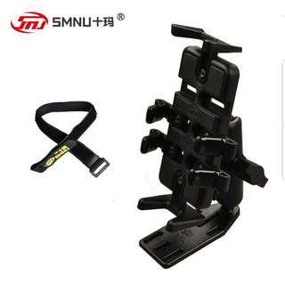 SMNU motorcycle phone holder brake reservoir set