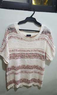 Cover up Knitted Top