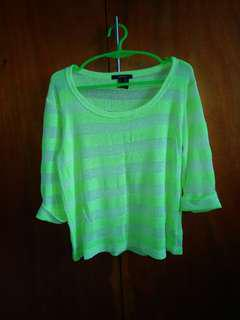 FOREVER 21 NEON TOP