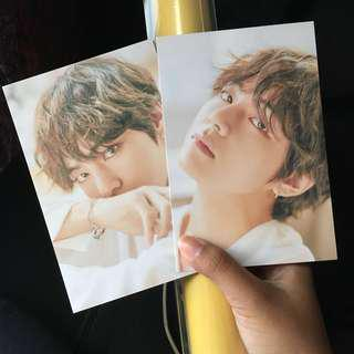 Ready Stock 오늘, 2018 BTS EXHIBITION Official MD V Taehyung Poster