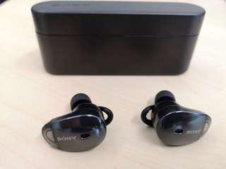 Sony Noise Cancelling Cordless Bluetooth Earphones WF-1000X