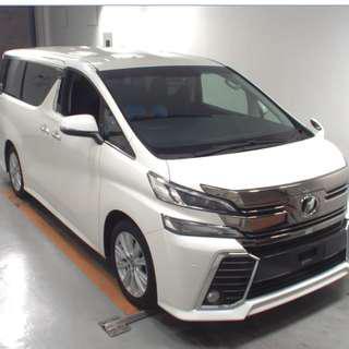 2015 Toyota Vellfire 2.5 Z (HK Motorcity汽車代購服務)