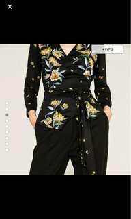 ✨Authentic✨ Zara Basic Kimono Top Size S