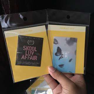 Ready Stock Sticker HYYH PT2 & Skool Luv Affair 오늘, 2018 BTS EXHIBITION Official MD