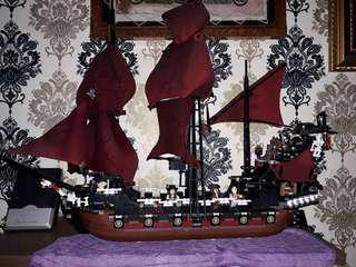 Legoo Queen Anny Pirates Carribean Ship