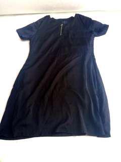 Dress wanita Hitam polos