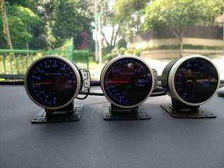 Shadow gauges temp water and turbo and voltage