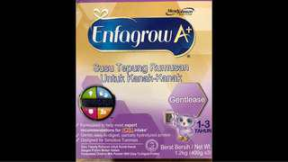 Enfagrow gentlease 1-3yrs