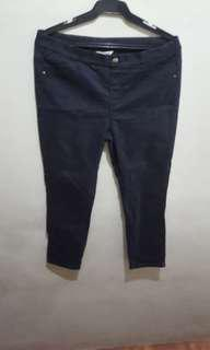 Skinny Pants Black  XL