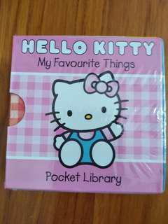 Hello kitty My favourite Things Pockey Library Sanrio original 5 Books