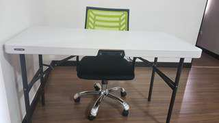 Study table and office chair