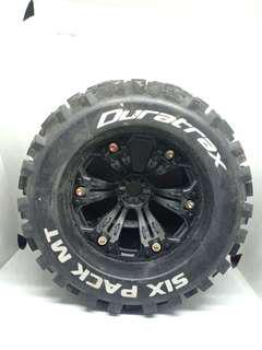 Duratrax Six Pack MT RC Tyres