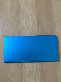 blue powerbank