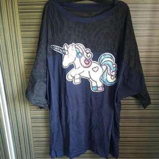 Brand New Plus Size Unicorn Top