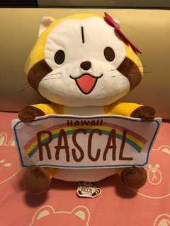 Rascal浣熊夏威夷Hawaii大公仔