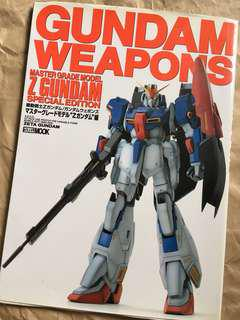 Gundam Weapons master Grade Model Z Gundam Special Edition
