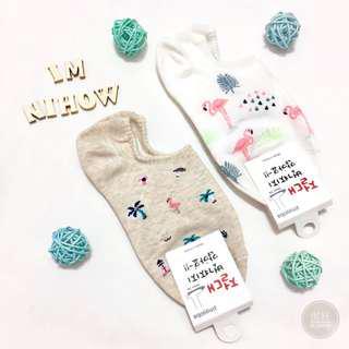 🚚 紅鶴短襪