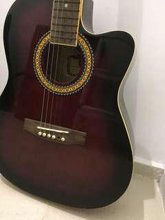 Free Guitar - string broken