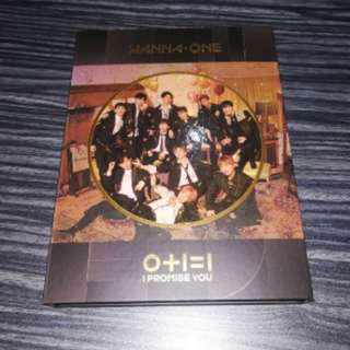 ONHAND UNSEALED WANNA ONE I PROMISE YOU NIGHT VERSION