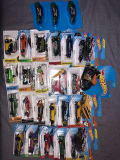 Hot Wheels bulk lot 25 new cars