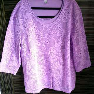 Brand New Plus Size Sweet Lace Top
