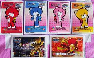 Petit'Gguy and gundam stickers