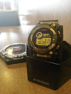 Gshock Frogman jelly Black