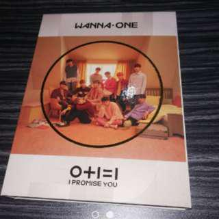 ONHAND UNSEALED WANNA ONE I PROMISE YOU DAY VERSION