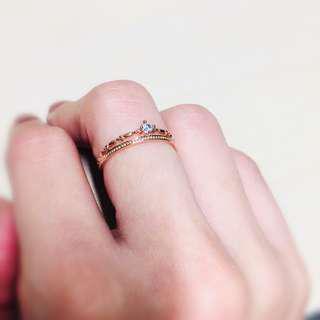 全新做你的公主戒指