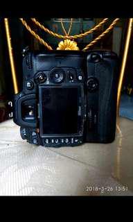 kamera nikon D7000 Body Lensa 18 105mm BG ori nikon